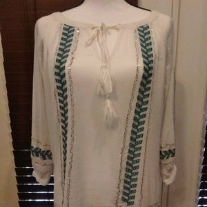 Tommy Bahama Womens XS/TP Top Blouse